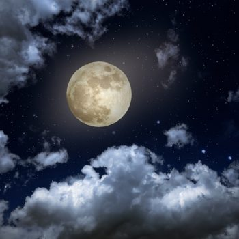 Gergi Tavan Gece Gökyüzü