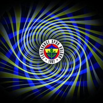 Gergi Tavan Taraftar Görselleri Fenerbahçe