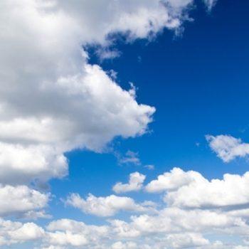 Gergi Tavan Bulut ve Gökyüzü